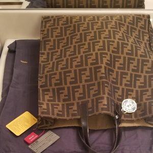 Fendi Zucca Shopper Tote bag